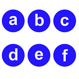 Basic Font for Letters.