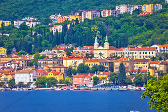 Town of Volosko waterfront view