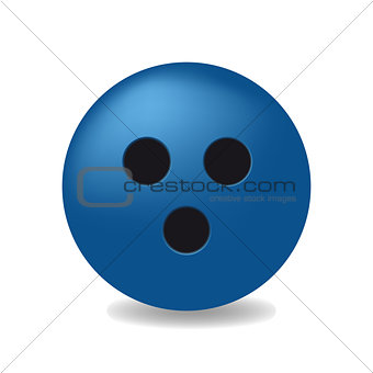 blue ball with the black holes