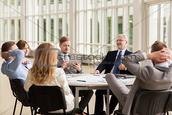 business people meeting at office