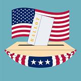 United States of America Election box