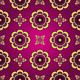 Purple seamless vintage pattern