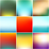 Abstract blurred background design illustration. Can be used for website, banners or presentation. Minimalistic vector templates. Clean glossy defocused concept.