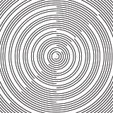 RAdial pattern background Vector radial black background pattern on white. Abstract vector black and white  halftone background