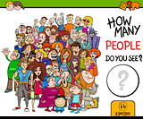 counting people activity game