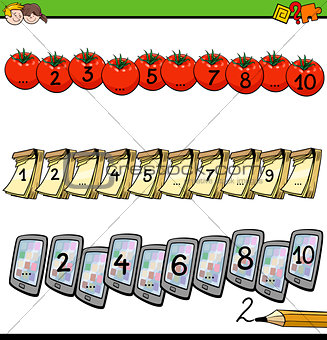 mathematical counting activity