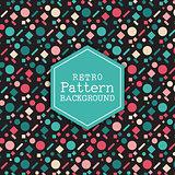 Retro pattern background 2609