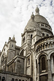 Rear of the Basilique du Sacré-Cœur, seen from Rue du Chevalie