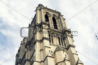 Cathedral Notre-Dame de Paris. Paris. France.