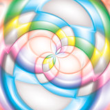 Colorful lollipop spiral candy background