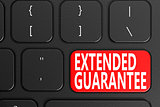 Extended Guarantee on keyboard