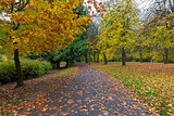 Fall Season at Laurelhurst Park in Portland Oregon