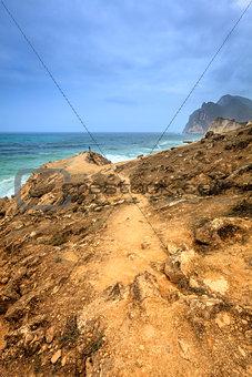 Oman coastline