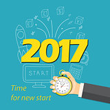 2017 time for new start