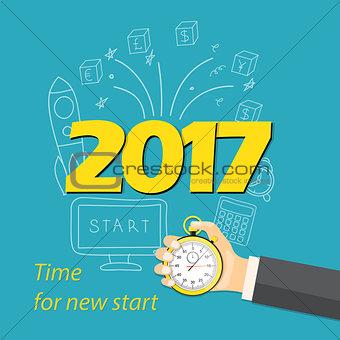 2017 time for new start