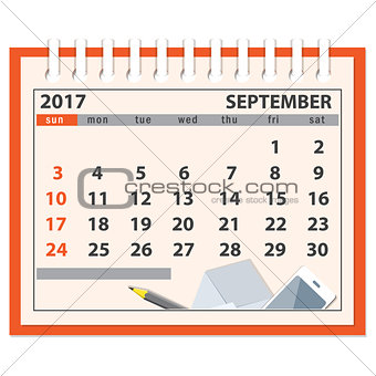 page of september 2017