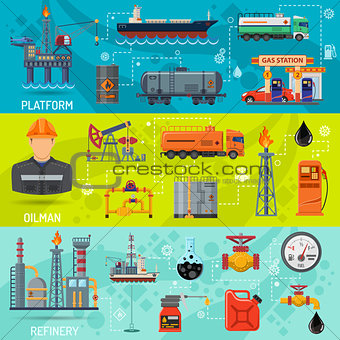 Oil industry Banners
