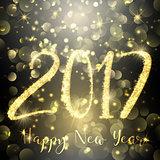 Happy New Year sparkle background