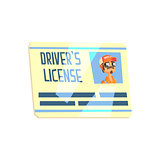 Trucker Driving License Truck Driver Job Related Item