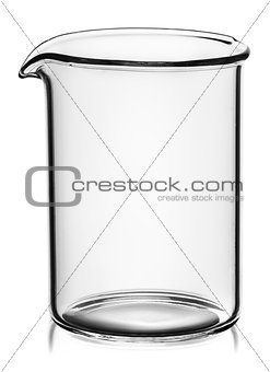 Beaker without divisions