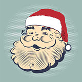 Santa Claus smiling head