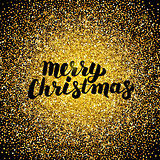 Merry Christmas Gold Design