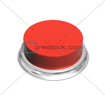3d button of red color