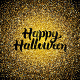 Happy Halloween Gold Design