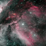 The Carina Nebula is a large bright nebula.