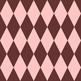 Pink and brown tile vector pattern