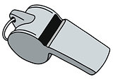 Small metal whistle
