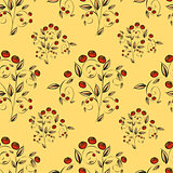 Berries Abstract seamless pattern.