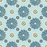 Bright Varicolored seamless pattern background.