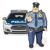 Police patrol, sheriff