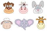 Animal heads 2