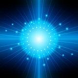 abstract vector blue light backgrounds. illustration vector desi