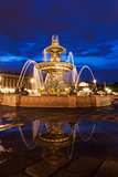 Fontaine des Fleuves on Place de la Concorde in Paris