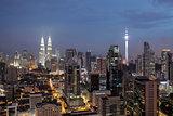 Night at Kuala Lumpur, Malaysia