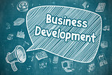Business Development - Business Concept.