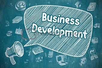 Business Development - Business Concept.