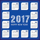 2017 year office calendar