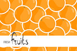 Juicy oranges for a background