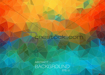 Abstract colorful background for web Design