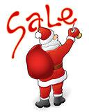 Santa Claus, sale