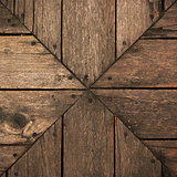 Background wood brown