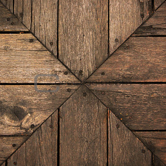 Background wood brown