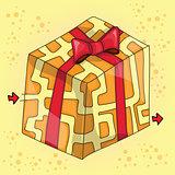 Maze game for children funny gift