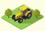 tractor farm machine