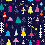 New pattern of Christmas trees