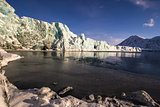 Arctic views in south Spitsbergen. Around the fjord Hornsund..